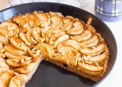 Einfacher,-französischer-Apfelkuchen