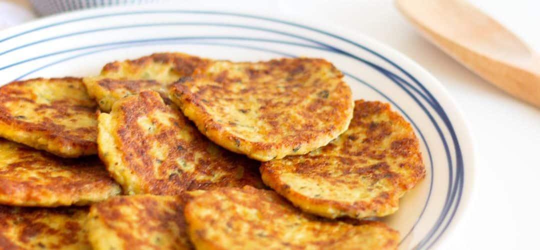 Würzige Blumenkohl Fritters