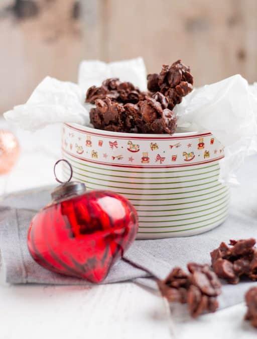 Choco Crossies mit Pekannüssen
