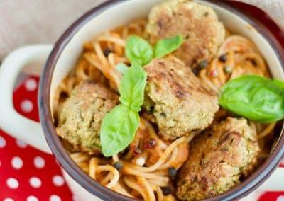 Vegetarische Meatballs