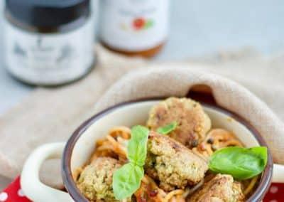 Vegetarische Meatballs2