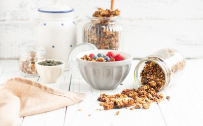 Sugarfree orange-cinnamon-granola