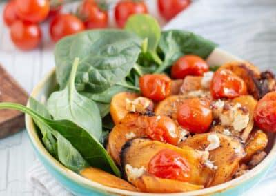 Süßkartoffel-Spinat-Salat_4