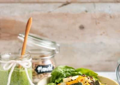 Zucchini-Linsen-Pfanne mit Spinat-Pesto_5