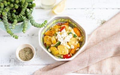 Griechische Bratkartoffel-Pfanne