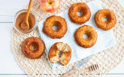Saftige Apfel-Zimt-Donuts