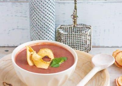 Rote-Bete-Suppe mit Apfelchips_3