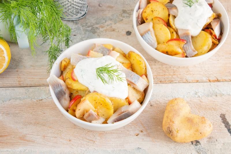 Bratkartoffel-Matjes-Pfanne