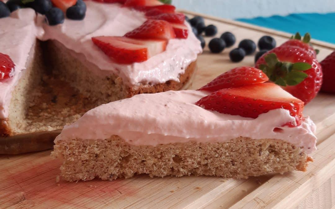 Erdbeer-Frischkäse-Kuchen von Natascha H.