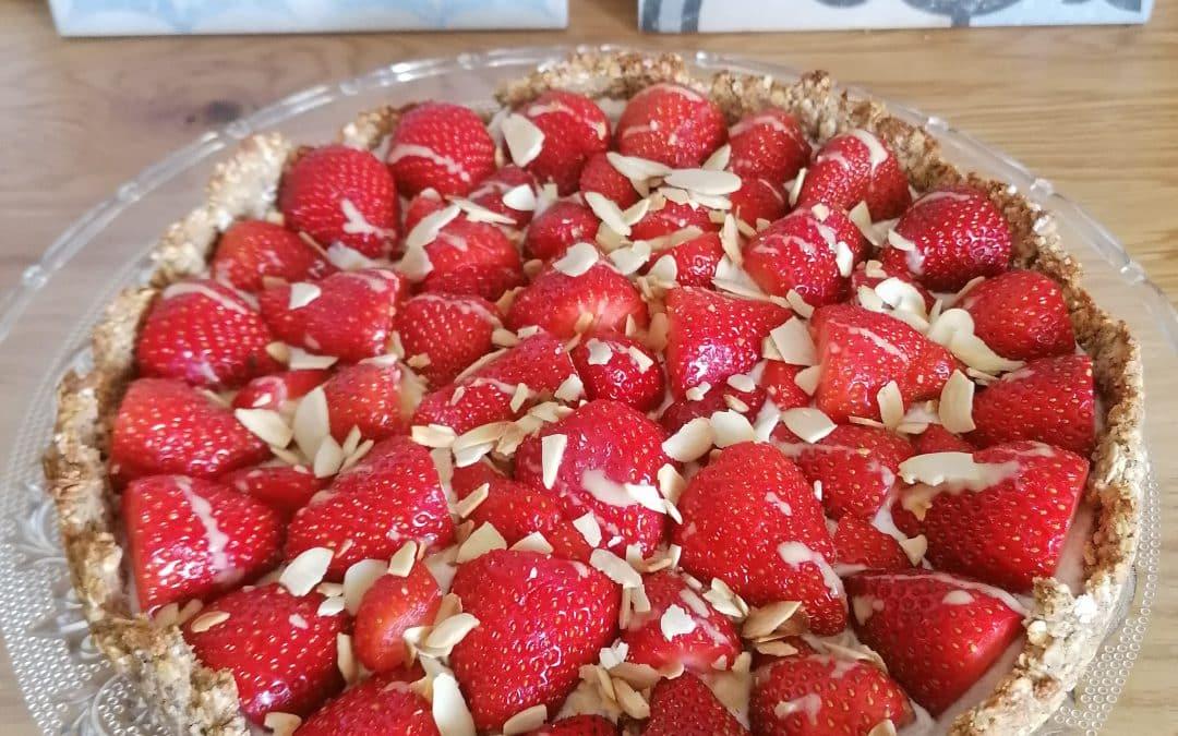 Erdbeer-Kokos-Tarte von Natascha F.